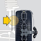 Konig Snow chain - external