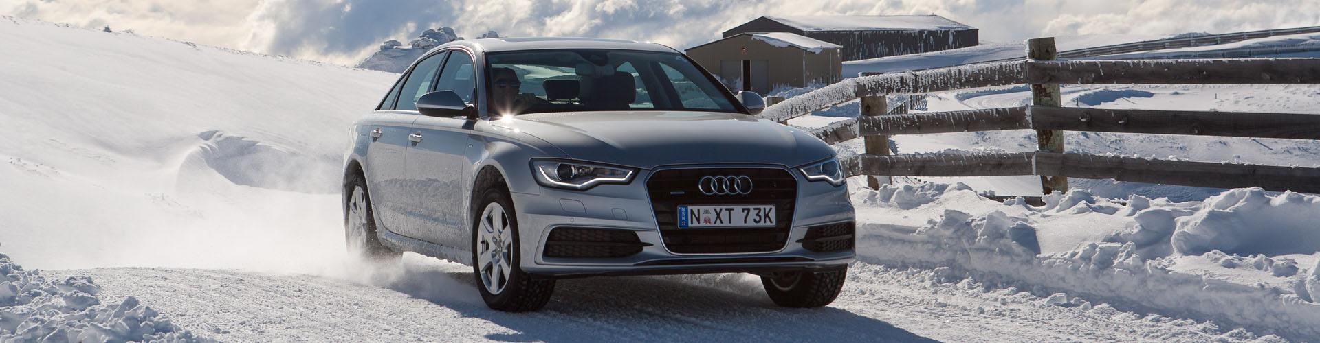 Sneeuwkettingen voor de Audi A6