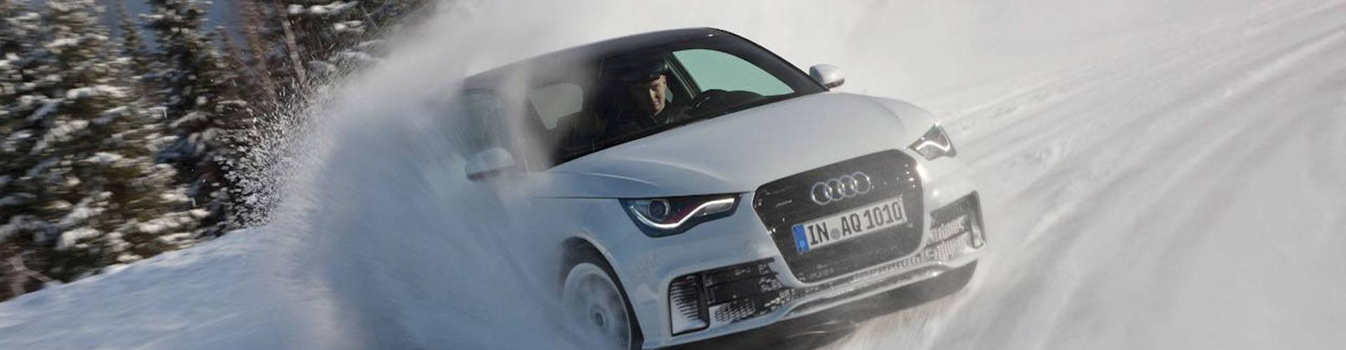Sneeuwkettingen voor de Audi A1