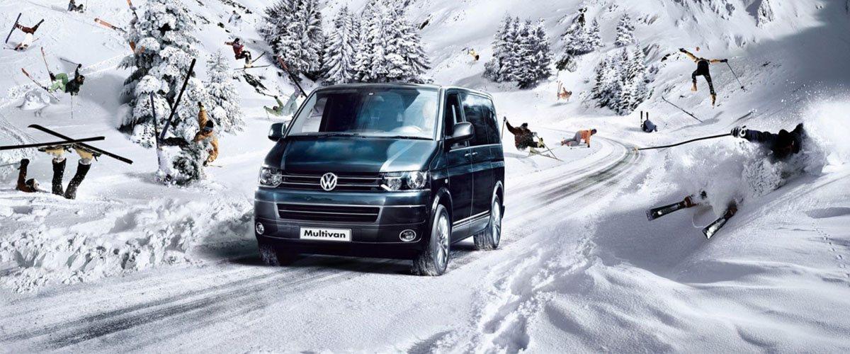 Sneeuwkettingen voor de Volkswagen Transporter