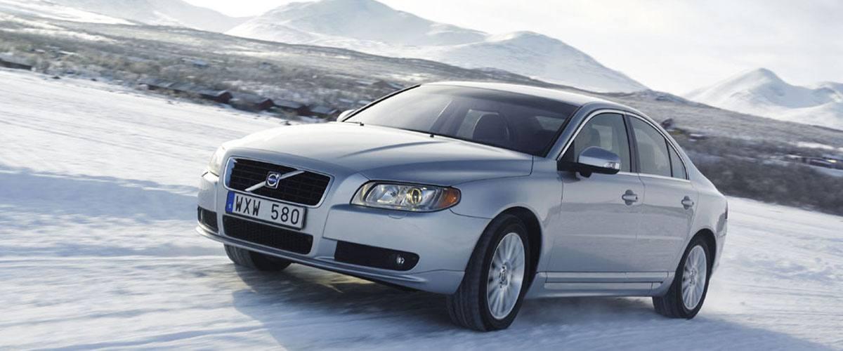 Sneeuwkettingen voor de Volvo S80