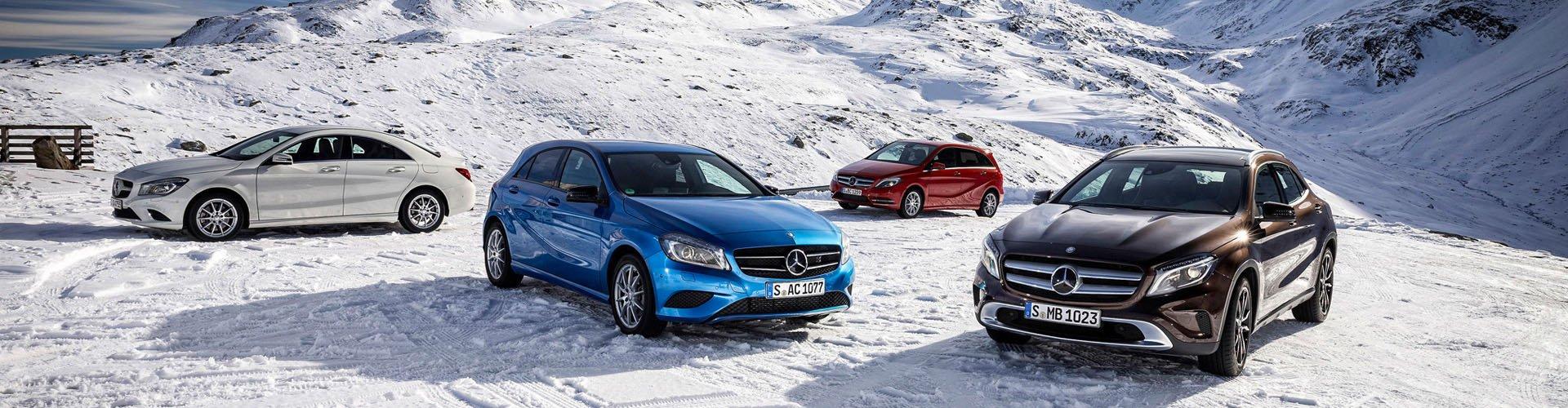 Sneeuwkettingen voor Mercedes