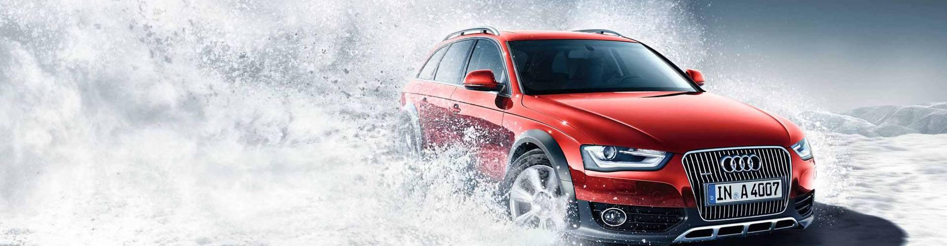 sneeuwkettingen voor de Audi A4