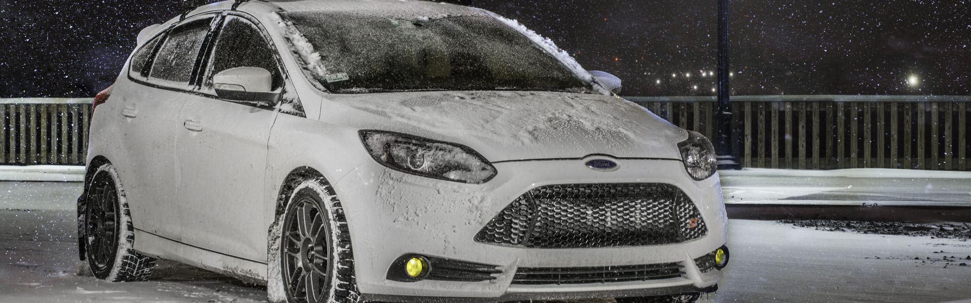 Sneeuwkettingen voor de Ford Focus