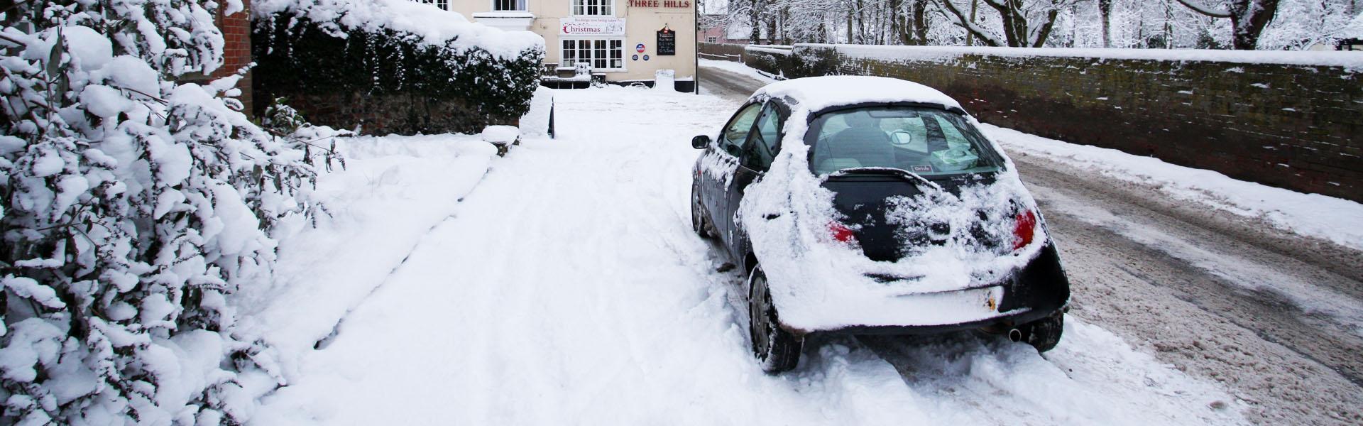 Sneeuwkettingen voor de Ford KA