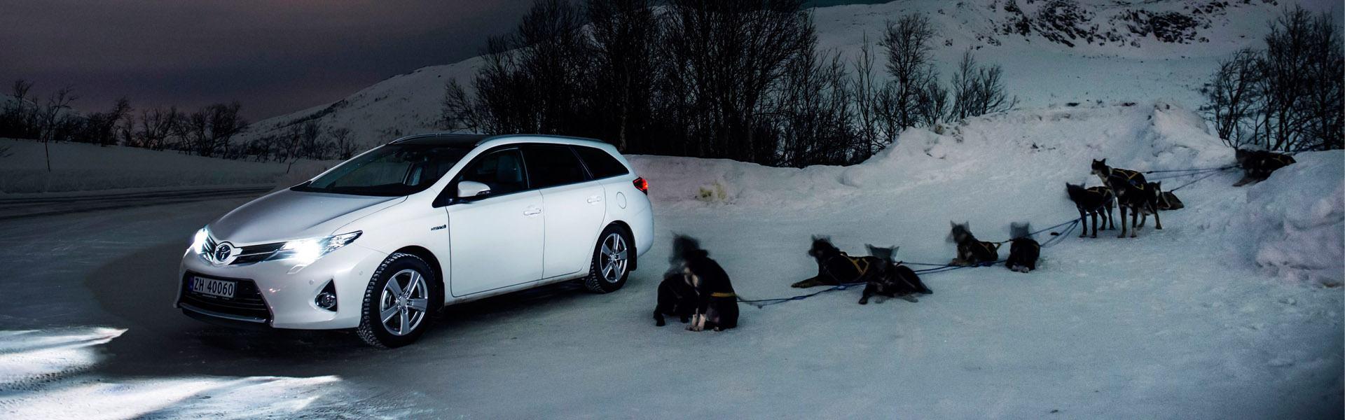 Sneeuwkettingen voor de Toyota Auris