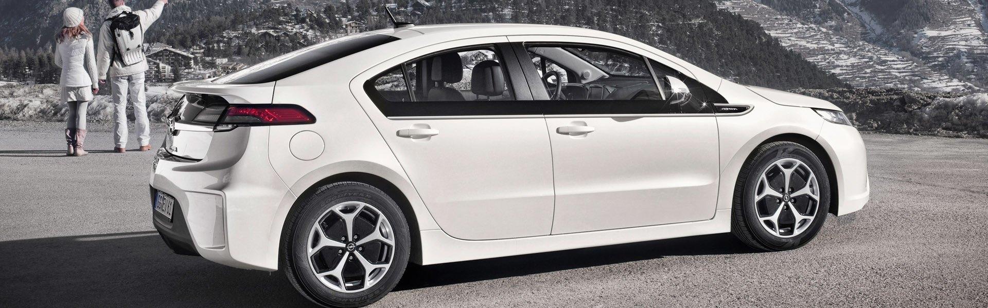 Sneeuwkettingen voor de Opel Ampera