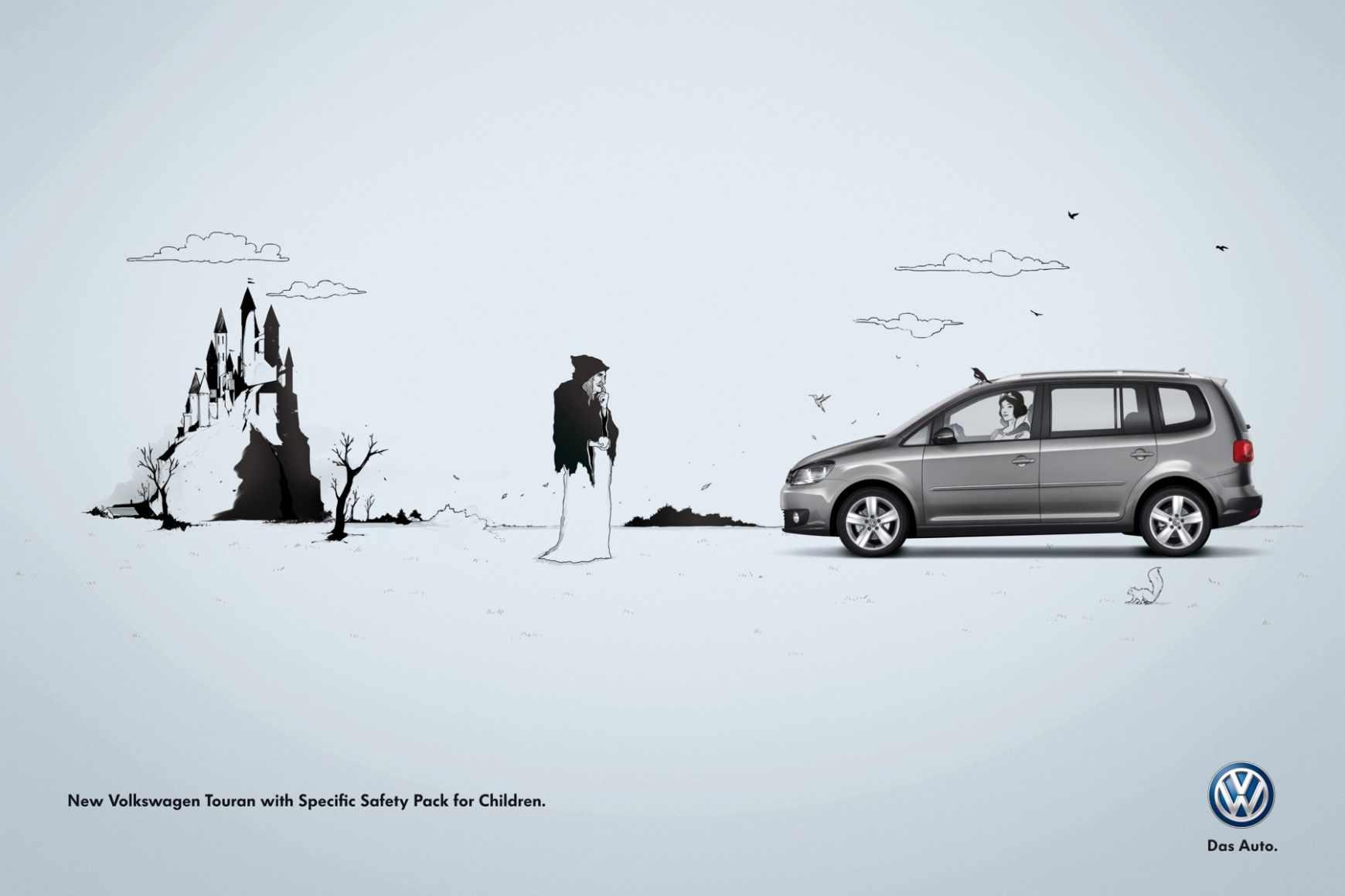 Sneeuwkettingen voor de Volkswagen Touran