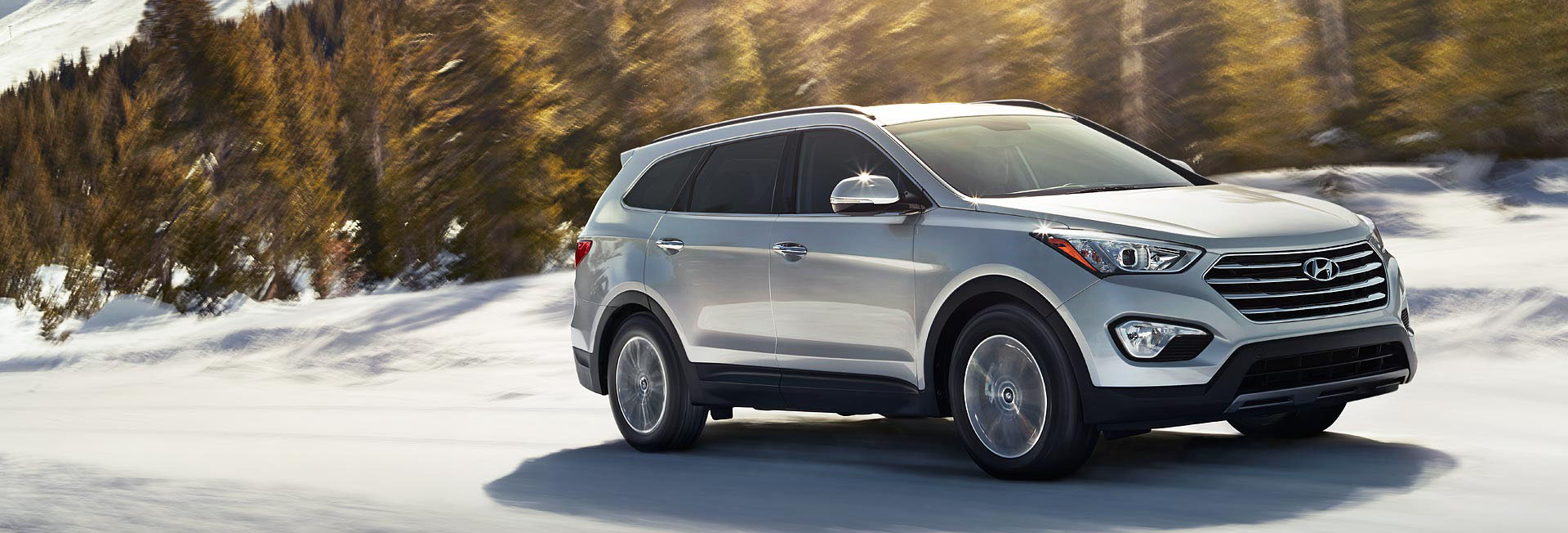 Sneeuwkettingen voor de Hyundai Santa FE