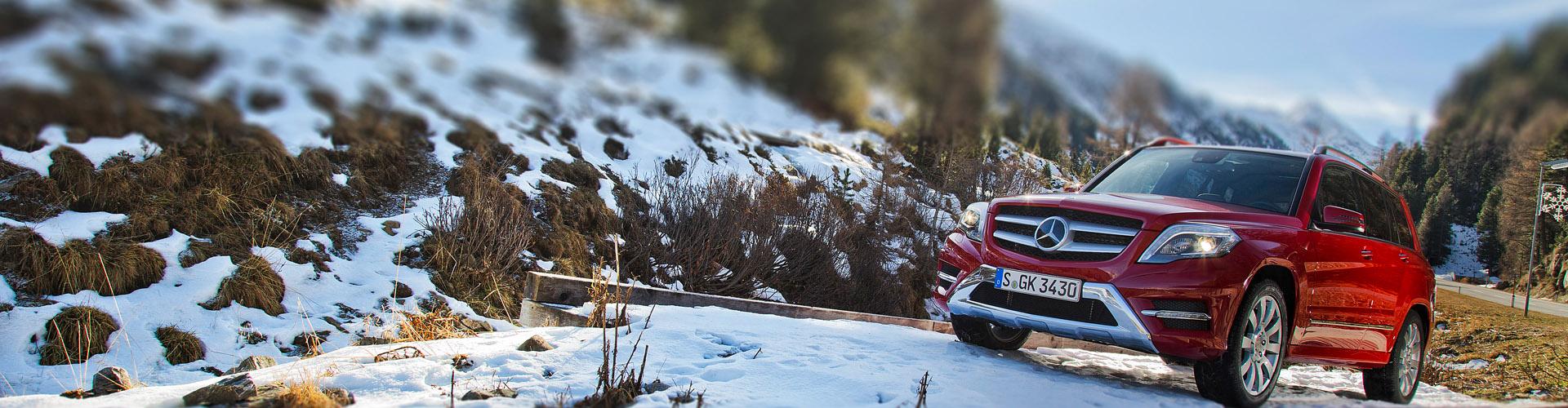 Sneeuwkettingen voor de Mercedes GLK