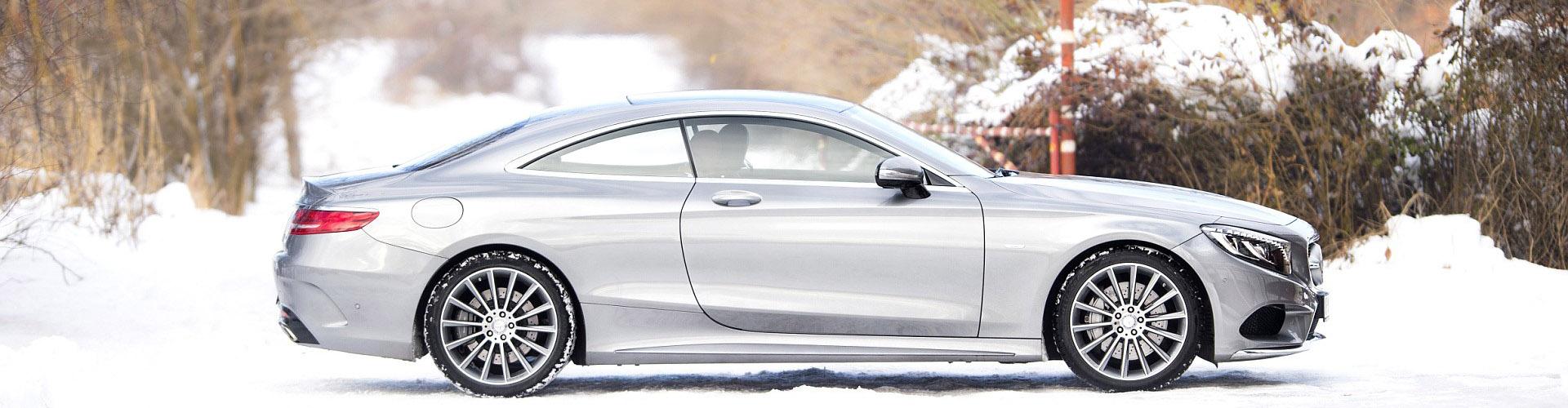Sneeuwkettingen voor de Mercedes S-klasse