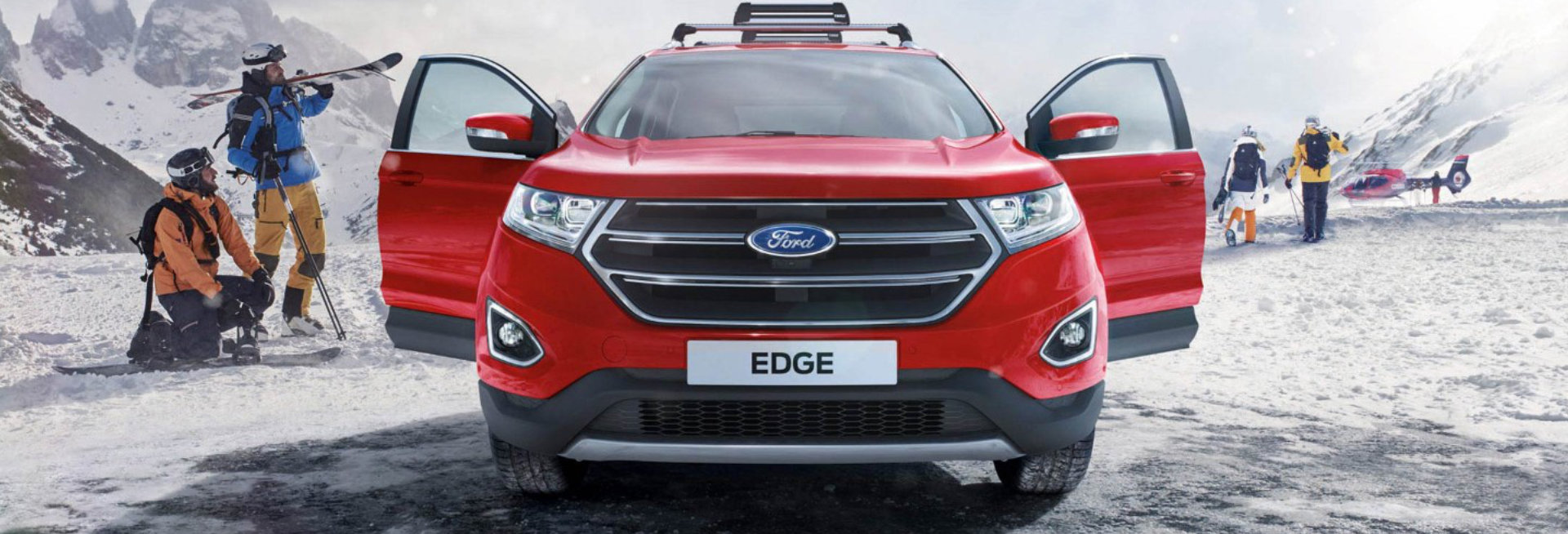 Sneeuwkettingen voor de Ford Edge