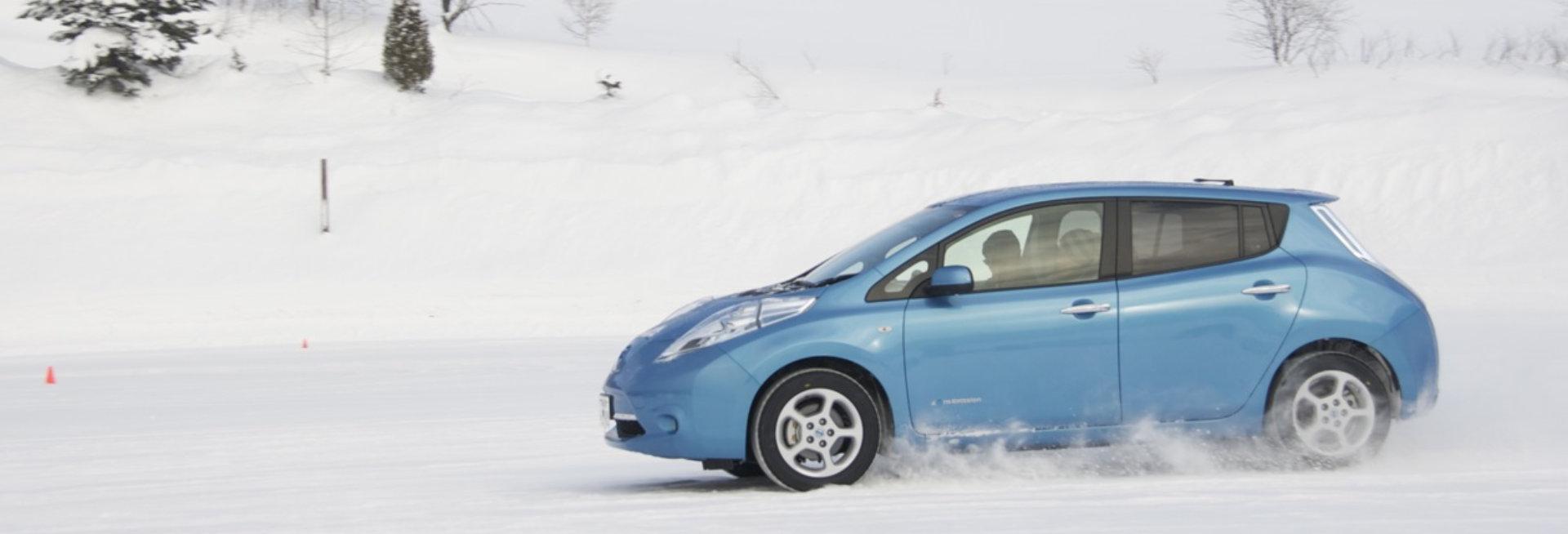 Sneeuwkettingen voor de Nissan Leaf