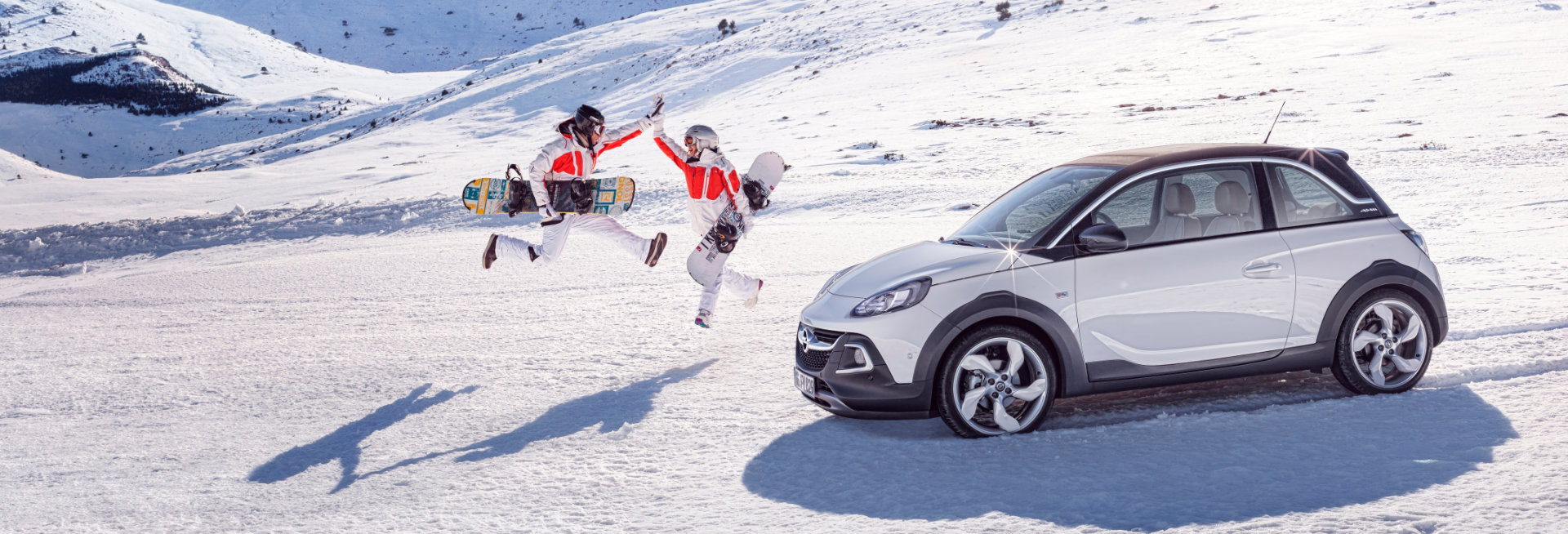 Sneeuwkettingen voor de Opel Adam