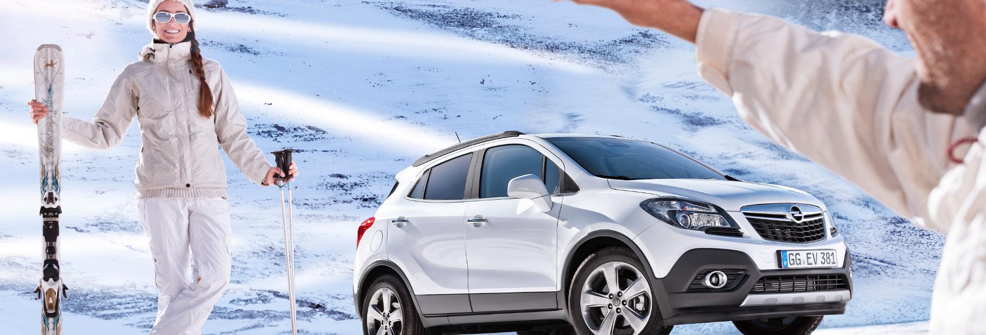 Sneeuwkettingen voor de Opel Mokka
