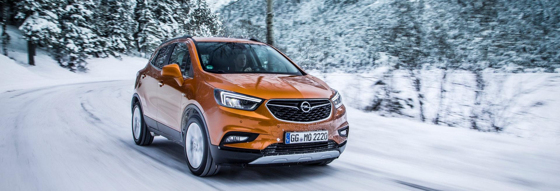 Sneeuwkettingen voor de Opel Mokka X