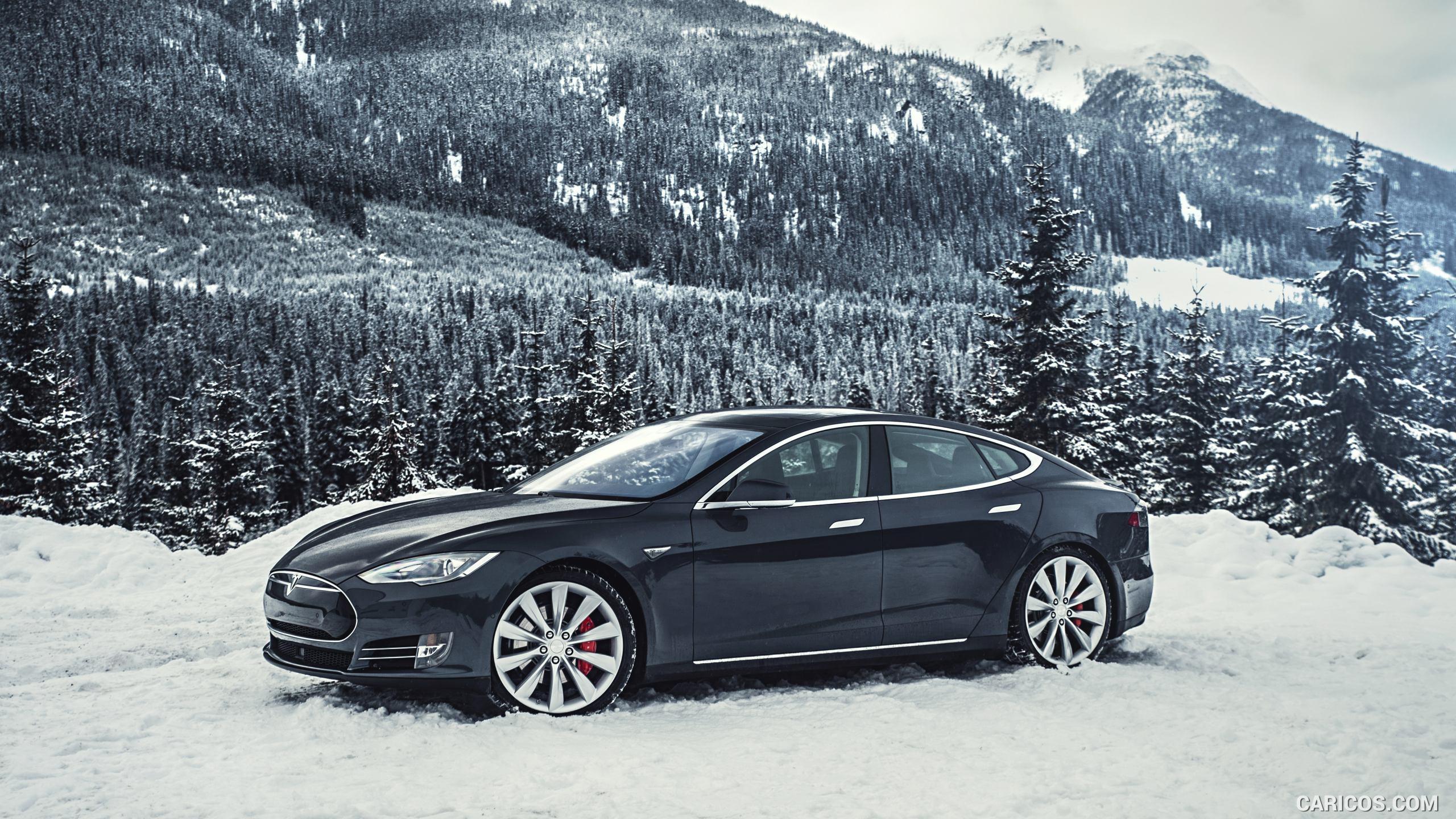 Sneeuwkettingen voor Tesla